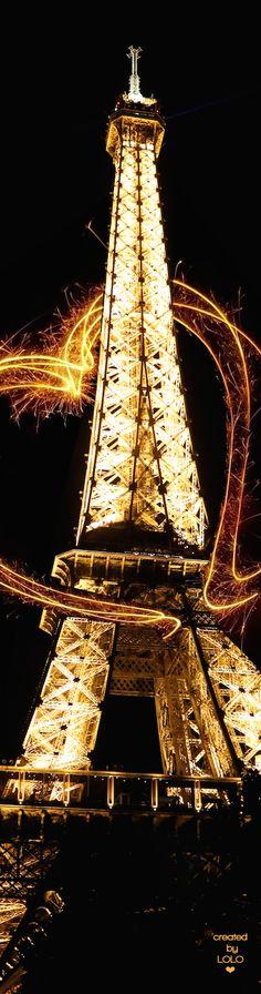 Eiffel Tower via @innochka2. #Paris #France