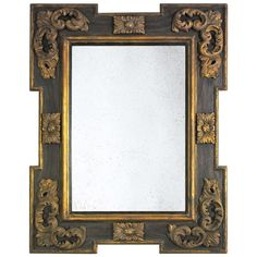 Italian Baroque Frame Mirror | From a unique collection of antique and modern wall mirrors at http://www.1stdibs.com/furniture/mirrors/wall-mirrors/