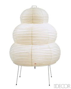 NOGUCHI LAMPS  One of Julianne Moore's Faves...I've used them in every house I've lived in for the past 20 years. I never tire of them.
