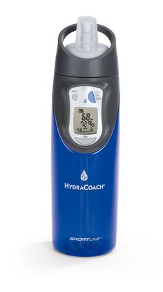 Hydracoach - Having trouble determing how much water to drink a day? Your Hydracoach has got your back.