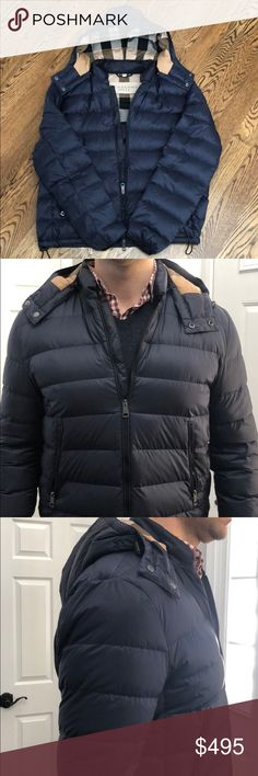 Burberry Brit Mitchson Lightweight Puffer Jacket Received this jacket as a gift from my wife after she knew I had my eye on it, but I had already purchased it for myself just a day before. I love this jacket so much, but don't need both. This jacket runs pretty small, so an XXL is sized more like an XL. 100% Authentic guaranteed - purchased from Burberry boutique for $595, but will consider offers. Worn once, and is in perfect condition with absolutely no flaws. Burberry Jackets & Coats…