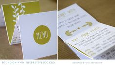 Printable Garden Party Menu from @Matty Chuah Pretty Blog