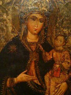 """Προσκυνητής: Οι Ιστορικές εικόνες της """" Πρόσφυγος """" Παναγίας στον Ελλαδικό χώρο. Mona Lisa, Artwork, Painting, Child, Work Of Art, Boys, Auguste Rodin Artwork, Painting Art, Paintings"""