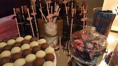 Candy Bar persnalizado.Fiesta de 15 Organizada por Maria Ines Novegil Event Planners en Hotel Four Seasons Buenos Aires.