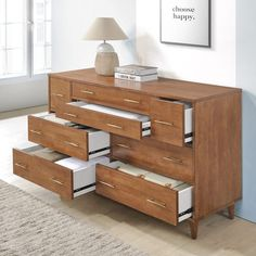 Find out the best selection of Drawer Pulls to 2019 - Drawer Pulls. Bedroom Furniture Stores, Bedroom Dressers, Wood Bedroom, Furniture Deals, Bedroom Decor, 8 Drawer Dresser, Oak Dresser, Drawer Pulls, Small Drawers