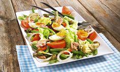 Nizzasalat mit Oliven, Eiern und Artischocken Rezept   tegut...