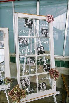diy window wedding decoration ideas / http://www.deerpearlflowers.com/diy-window-wedding-ideas/