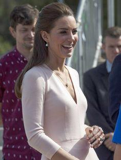 Is That Cleavage We See, Kate Middleton?: