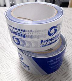 Mainosnauha Promostar - http://www.promostar.fi/pakkausteippi_logolla