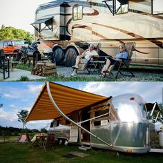 What's YOUR type of camper, RV or motorhome? Vintage & refurbished or new & ultra modern?