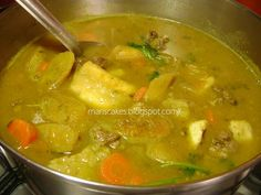 The sancocho is a stew that is traditional and very representative of the Dominican Republic. It's made with many meats and starchy tu...