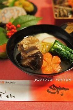 福岡は博多で…お雑煮と言えば「かつお菜」
