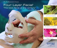 """""""The best facial of the century."""" - Cosmpolitan UK... The Repechage Four Layer Facial"""