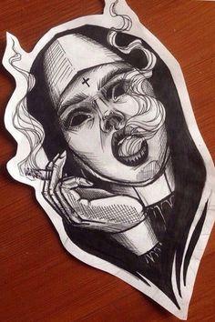 Trendy Dark Art Drawings Sketches Ideas - Image 5 of 23 Tattoo Sketches, Tattoo Drawings, Drawing Sketches, Eye Sketch, Demon Tattoo, Dark Tattoo, Tattoo Black, Smoke Tattoo, Vampire Tattoo