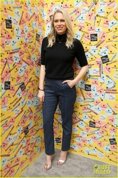 Erin & Sara Foster Team Up with Katharine McPhee at Saks Power Dressing Discussion!: Photo Erin and Sara Foster happily strike a pose alongside Katharine McPhee at Saks at Saks Fifth Avenue on Friday (May in New York City. The sister-duo and Katharine,… Sara Foster, Katharine Mcphee, Power Dressing, Strike A Pose, Saks Fifth Avenue, The Fosters, Capri Pants, Poses, Outfits