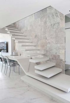 Modern Staircase Design Ideas Search motivational pictures of modern stairs. W Modern Stairs Design Ideas Modern motivational Pictures Search Staircase stairs Interior Design Your Home, Home Stairs Design, Railing Design, Home Room Design, Dream Home Design, Modern House Design, Modern Stairs Design, Loft Staircase, House Stairs