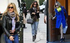 Scarves worn well by Jennifer Aniston - Rachel Bilson - Sarah Jessica Parker
