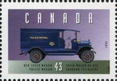 Reo Speed Wagon, 1925, Police Wagon