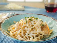 Chicken Fettuccine Alfredo recipe from Trisha Yearwood via Food Network