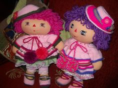 primitive rag dolls from daisieshandmadedolls