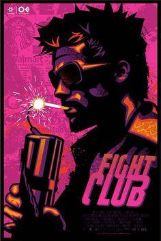 Affiche Film - fight club | #FightClub #Cinema #EdwardNorton