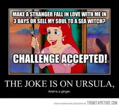 funny-Little-Mermaid-ginger-soul... Why have I never thought of this.