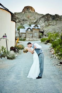 Ghost town wedding - this is great because we love old western movies..it'd be such a great place to have a western themed wedding!