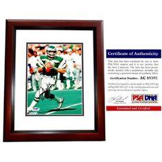 3ba333d14af Real Deal Memorabilia RJaworski8x10-3MF-PSA 8 x 10 in. Philadelphia Eagles  Ron Jaworski Signed Autographed Photo Frame, Mahogany