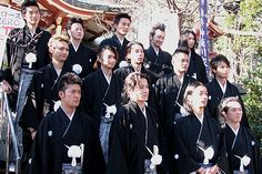 Crows Zero || Suzuran and Housen wearing traditional japanese clothes