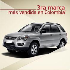 No paramos de aplaudir esta sorpresa. #Kia la 3ra marca más vendida en Colombia