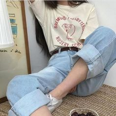 korean fashion aesthetic outfits soft kfashion ulzzang girl casual clothes grunge minimalistic cute kawaii comfy formal everyday street spring summer autumn winter g e o r g i a n a : c l o t h e s Vintage Outfits, Retro Outfits, Cute Casual Outfits, Casual Clothes, Style Clothes, Lazy Outfits, Fall Clothes, Fashion Vintage, Fashion Mode