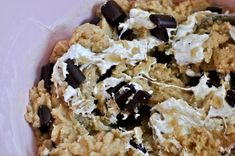 Chewy choc chunk marshmallow cookie bars