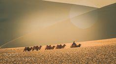 中国甘肃鸣沙山 by 2bdfec1b14c2c81f0575f01fabe249992