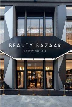 store design inspiration - Harvey Nichols Beauty Bazaar WGSN
