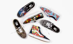 Vans has officially unveiled its out-of-this-world collection featuring artwork from the original 'Star Wars' trilogy.