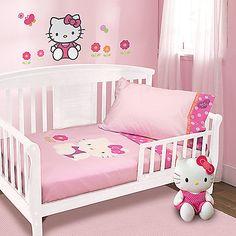 Lambs & Ivy® Hello Kitty Garden 4-Piece Toddler Set