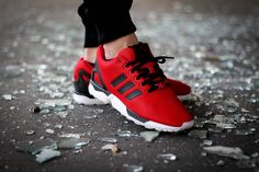Adidas ZX Flux Poppy Red - 2014