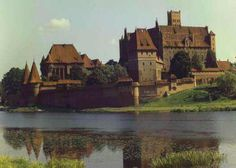 Malbork Castle. Poland. Built by the Crusaders, Teutonic Knights. 1406.