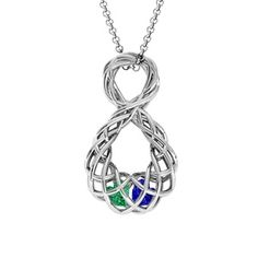 Caged Infinity Pendant #jewlr