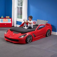 Step2 Hot Wheels Toddler To Twin Race Car Bed Giveaway (Ends 11/23) |  Giveaways! | Pinterest | Car Bed And Giveaway