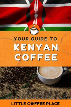 Your guide to Kenyan Coffee and what makes it unique from plant to cup. #littlecoffeeplace #coffee #kenya #kenyancoffee Low Acid Coffee, Little's Coffee, Coffee Plant, Coffee Type, Types Of Coffee Beans, Different Types Of Coffee, Kenyan Coffee, Coffee Supplies, Coffee Guide