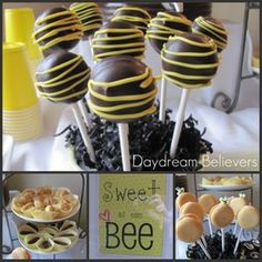Sweet as can BEE - Bumble Bee, Spring, Baby Girl, Baby Shower
