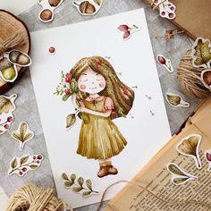 Sweet girl ✨ #art #sketch #picture #рисуюкаждыйдень #drawing #illustration_best #artist #brooch #waterblog #art_we_inspire #color #illustration #love  #акварель #художник #иллюстрация #ручнаяработа #дизайн #скетч #handmade #рисунок #artguide_illustration #art_stupenka #drawing #design #watercolor #любовь #логотип
