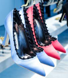 Heels at Manolo Blahnik Fall 2014 / NYこれションからのマノロ ブラニク パンプス #NYFW #style