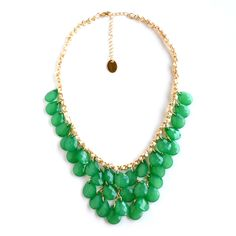 Jade dream - would be perfection with a black V-neck dress