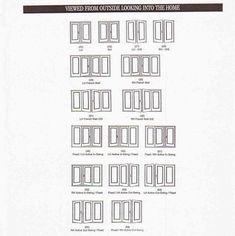 Exterior French Doors Standard Sizes Yüzler Bina Ev Tasarımı