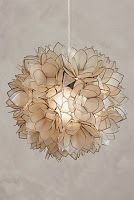 Looking for gift ideas? Don't forget about Anthropologie. Here are my favorite gifts from Anthropologie. Talk about a place where I want it all from pillows to shoes. Take a look at my favorite finds from. Chandeliers, Chandelier Pendant Lights, Pendant Lamp, Flower Chandelier, South Shore Decorating, Home Lighting, Bohemian Lighting, Table Lighting, Kids Lighting