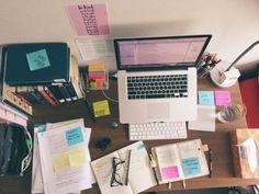 My Sunday desk