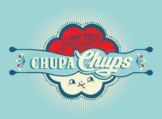 Chupa Chups by Mathieu Quiblier, via Behance