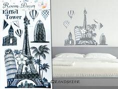 Eiffel tornyos 3D falmatrica Room Decor, Home, Ad Home, Room Decorations, Homes, Decor Room, Haus, Houses